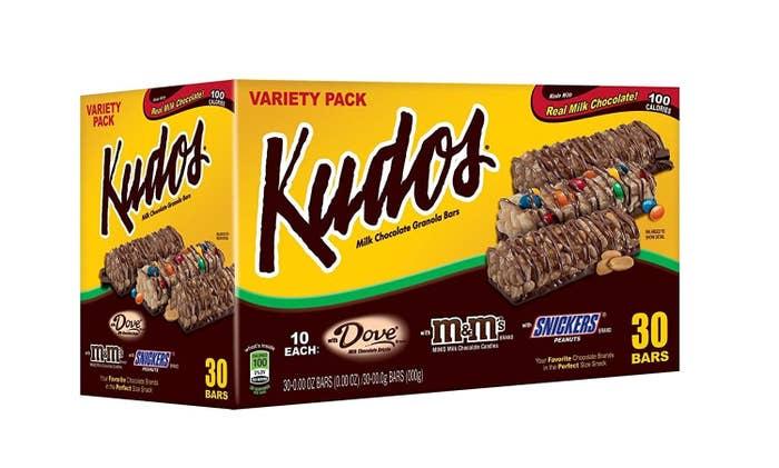 Photo of a box of Kudos box.