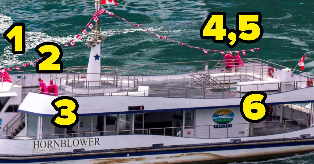 Dieses Bild von US- und kanadischen Booten vor den Niagarafällen zeigt gut, wie beide Länder mit der Corona-Pandemie umgehen