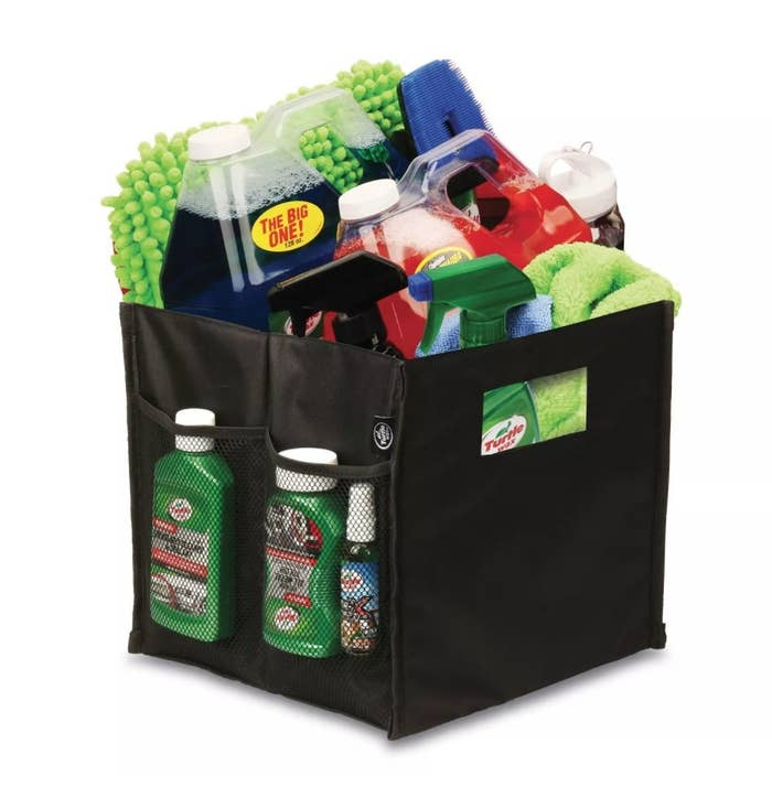 The organizing caddy with multiple pockets and dividers