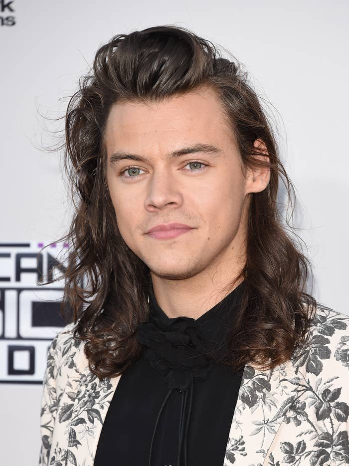 Harry Styles at the American Music Awards in 2015