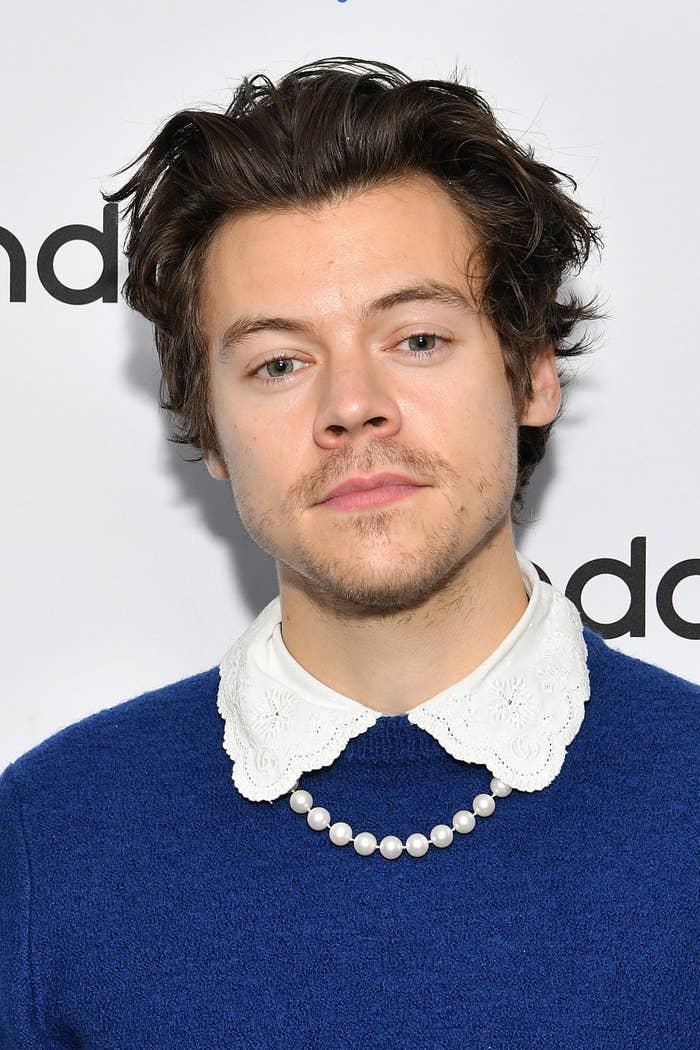 "Harry Styles promoting ""Fine Line"" in 2020"