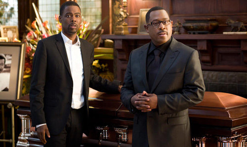 Chris Rock and Martin Lawrence in Death at a Funeral