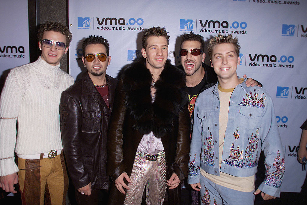 nsync in clothes that don't match at all
