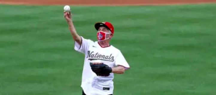 Fauci releases the ball