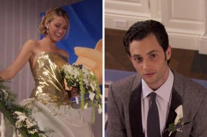 Serena marrying Dan on Gossip GIrl