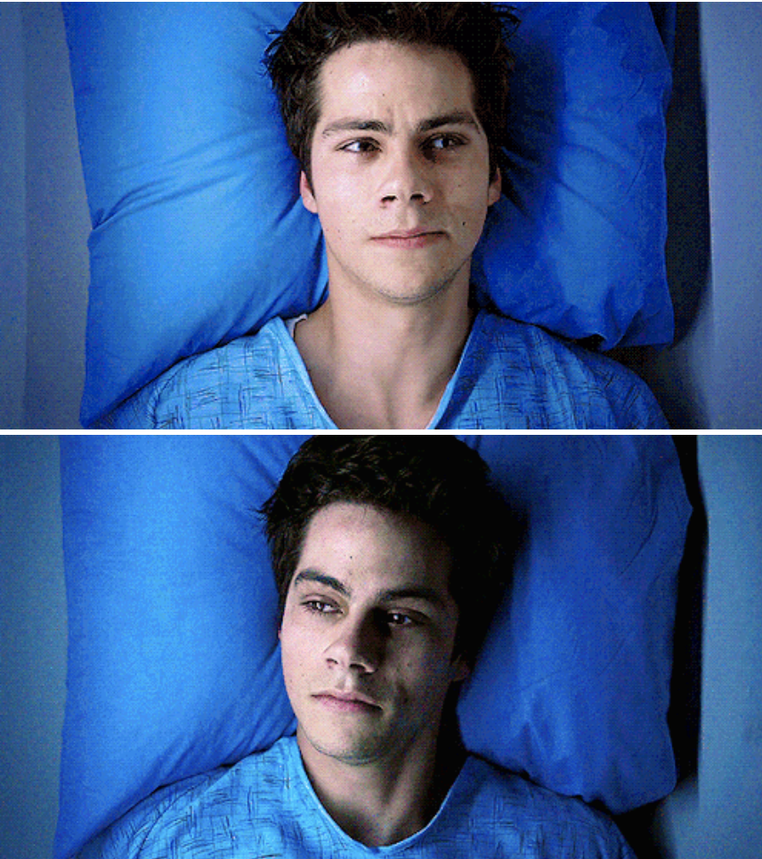 Dylan O'Brien as Void Stiles in Teen Wolf