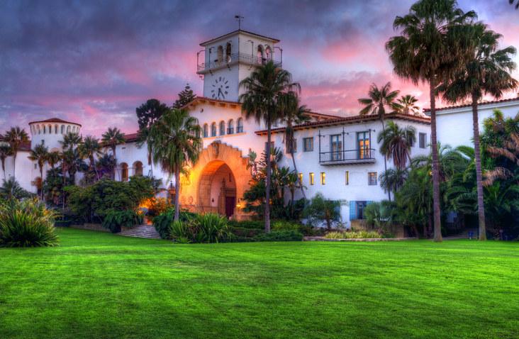 Gorgeous Spanish architecture in Santa Barbara