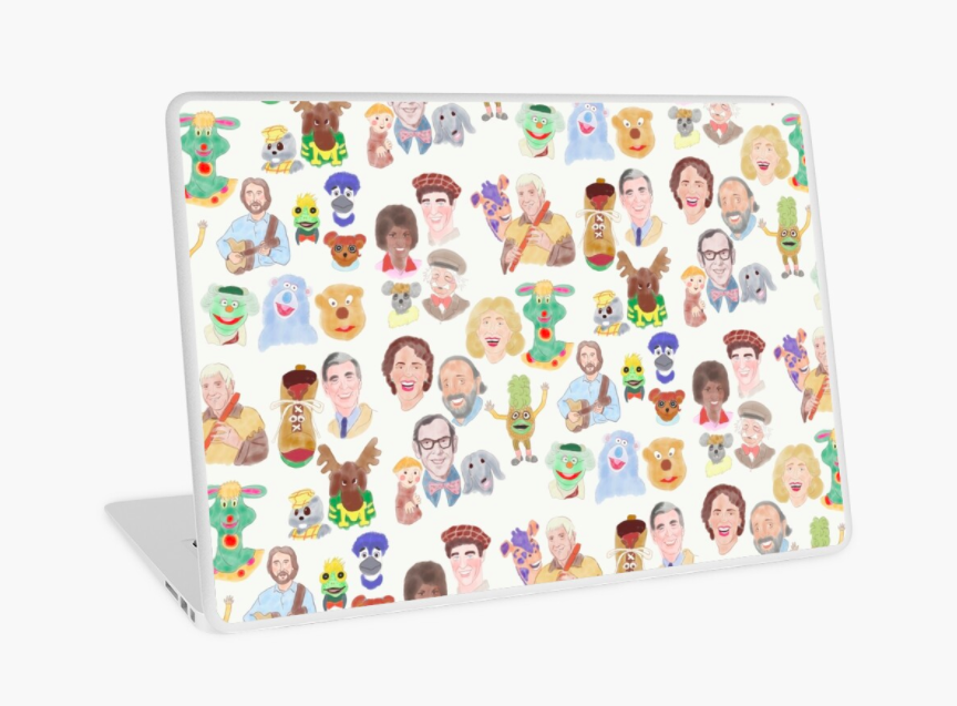 The CanCon Childhood in the 80s Laptop Skin.