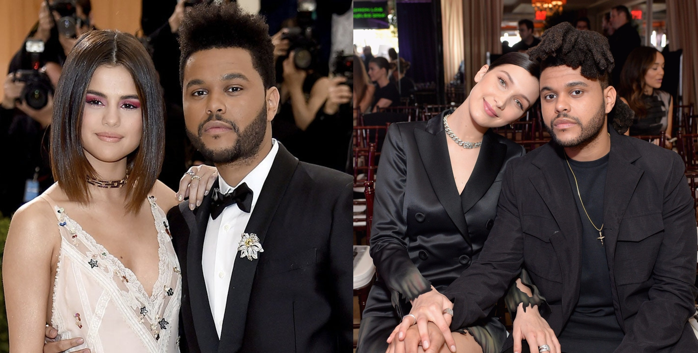 The Weeknd & Selena Gomez/ The Weeknd & Bella Hadid