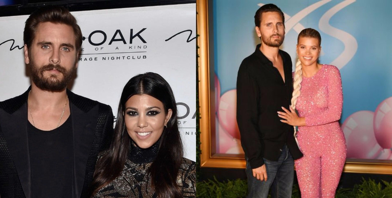 Scott Disick & Kourtney Kardashian/ Scott Disick & Sofia Richie