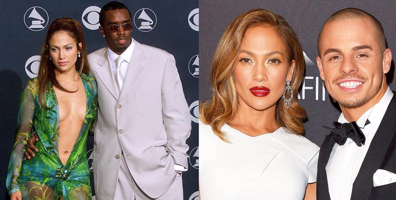 """Jennifer Lopez & Sean """"Diddy"""" Combs/ Jennifer Lopez & Casper Smart"""