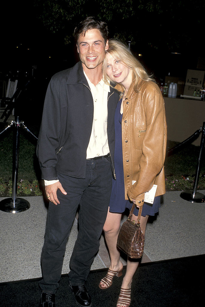 Rob Lowe and Sheryl Berkof in 1995