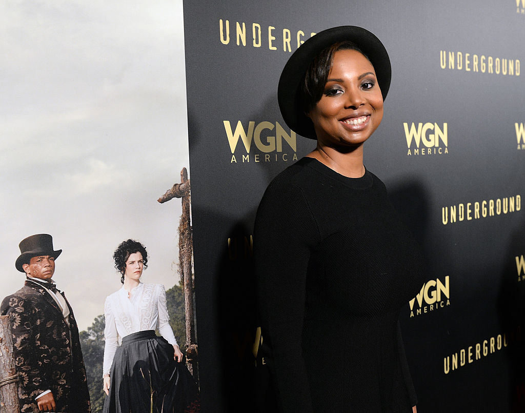 Misha Green at the premiere of Underground Season 2