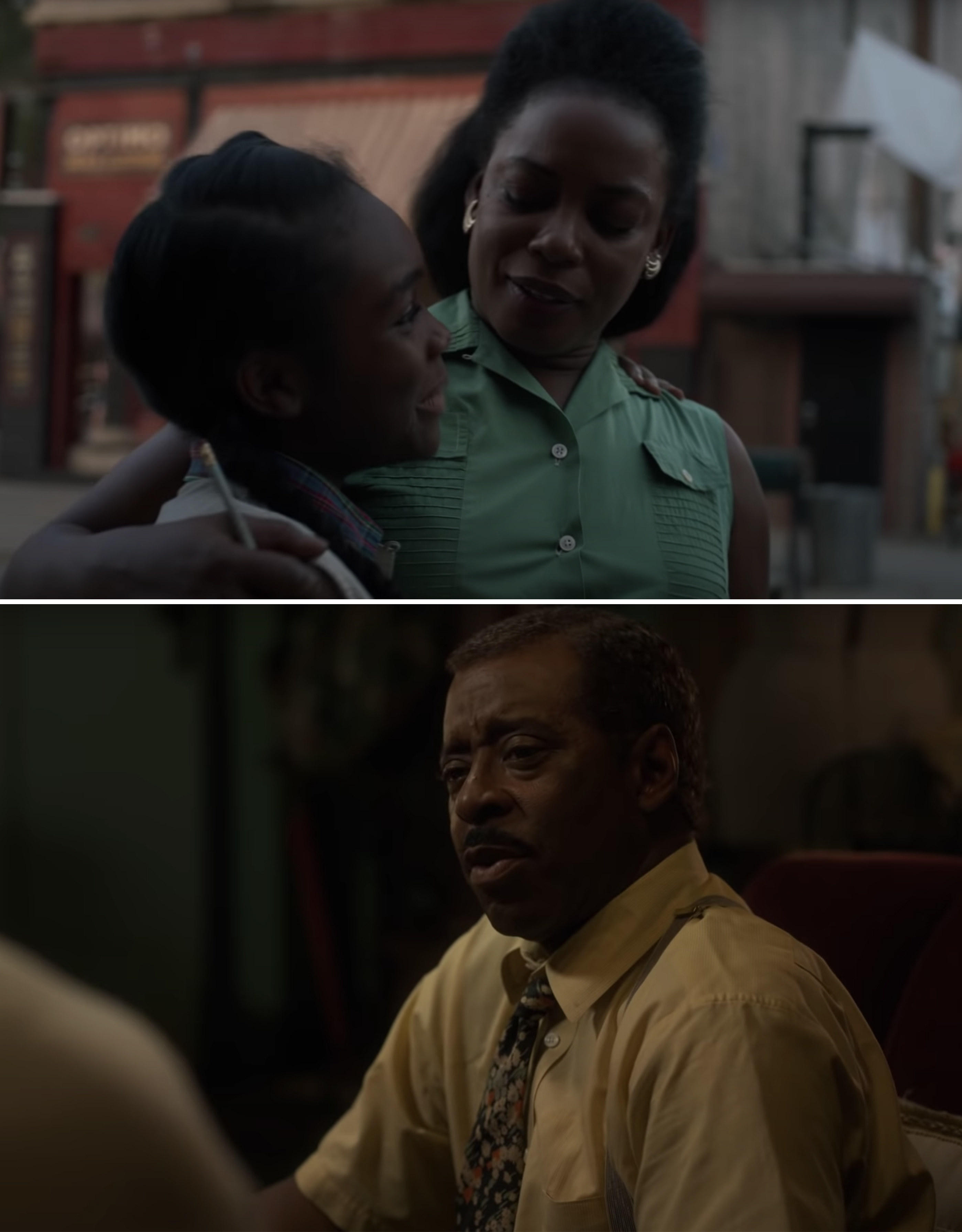 Aunjanue Ellis as Hippolyta and Courtney B Vance as George in Lovecraft Country