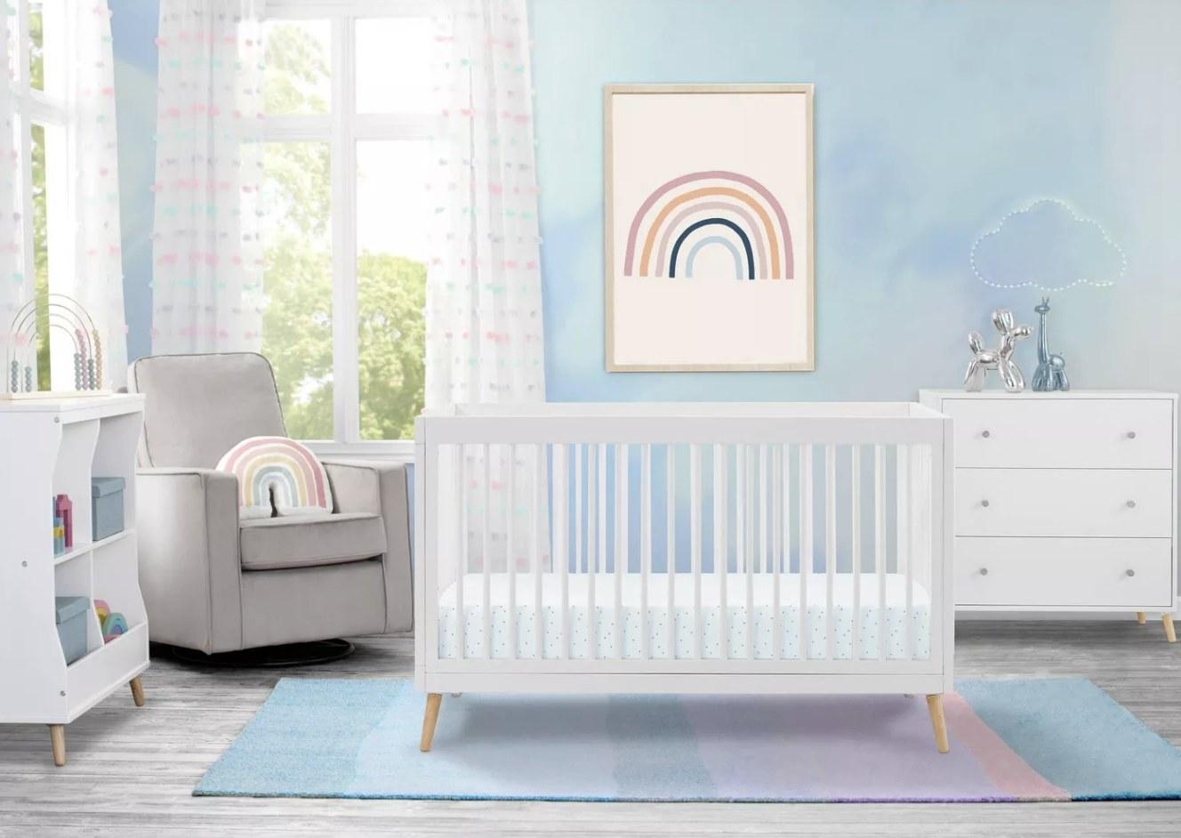 the white crib