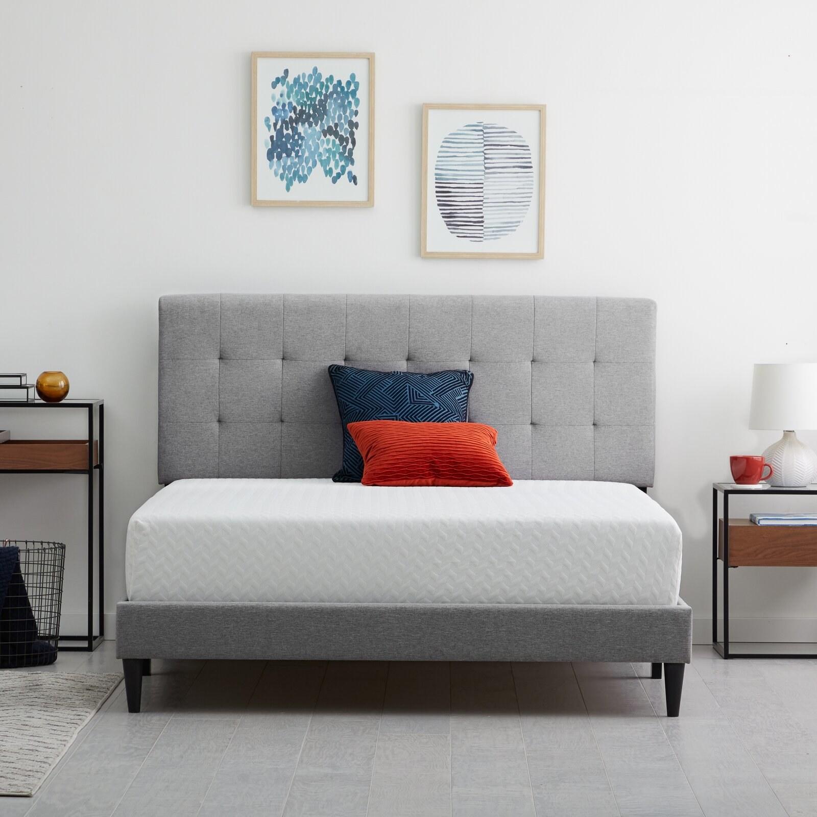 "Wayfair sleep 10"" plush memory foam mattress"