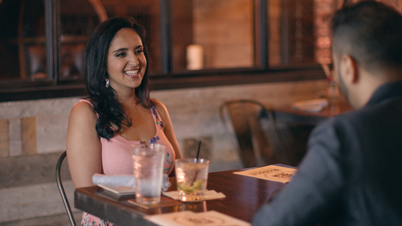 Aparna on a date