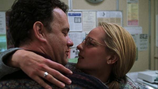 Tom Hanks and Helen Hunt in Cast Away
