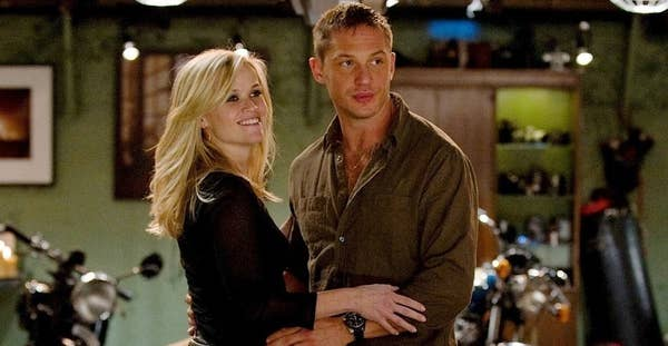 Reese Witherspoon and Tom Hardy in This Means War