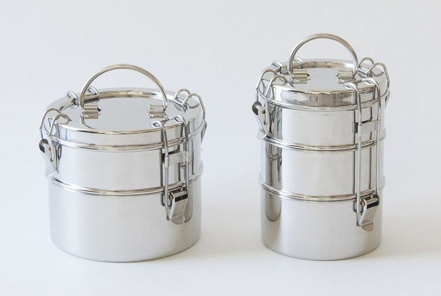 the stainless steel lunch box