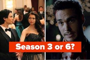 Season 3 or 6 of the Vampire Diaries