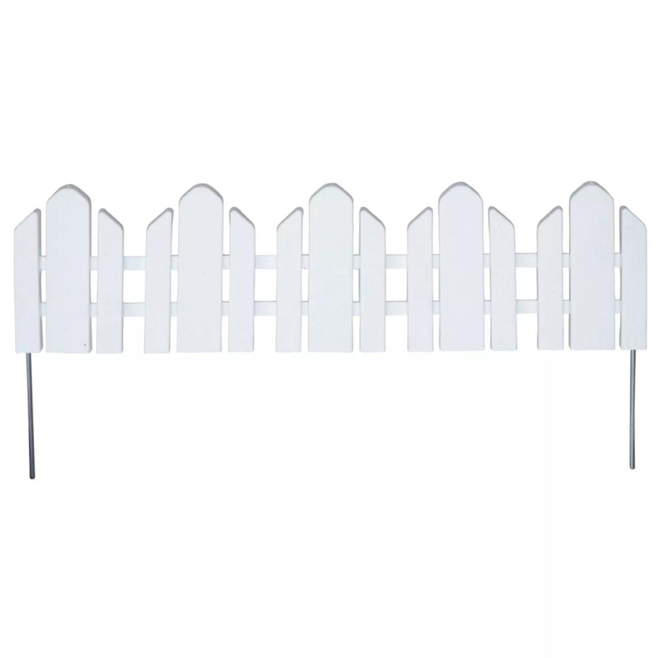 The white fence border