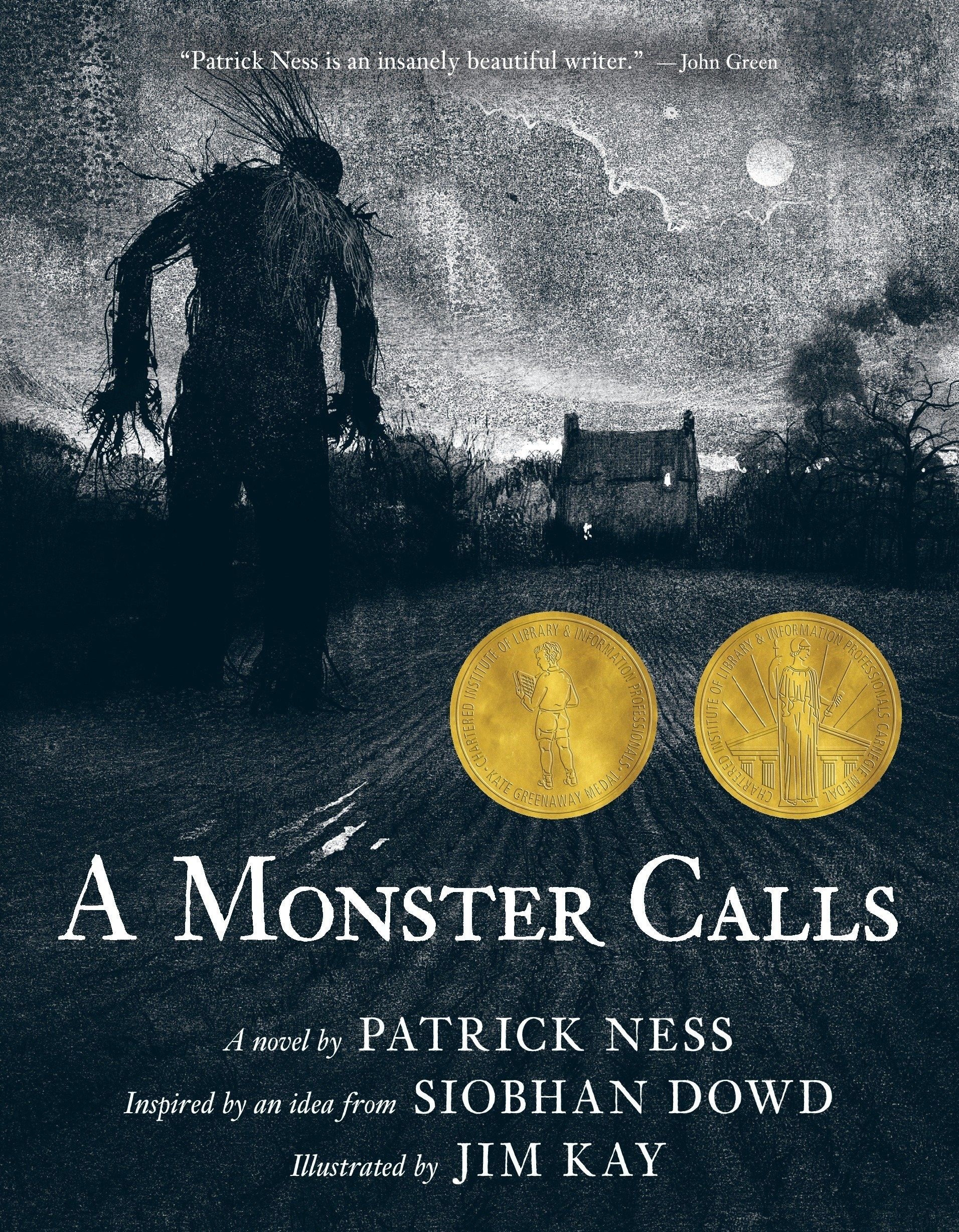 "Cover of ""A Monster Calls"" by Patrick Ness"