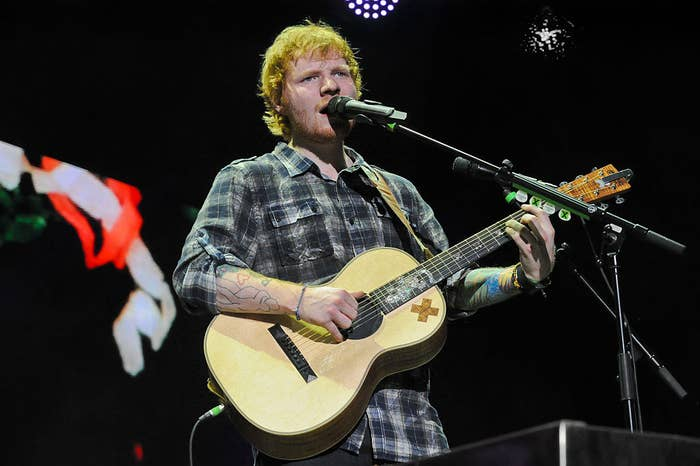 """Ed Sheeran on his """"Multiply World Tour,"""" a tour during which he struggled behin-the-scenes"""