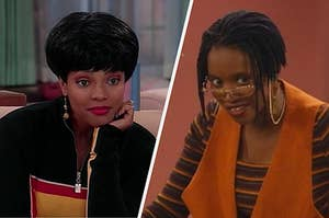 Regine and Max from Living Single