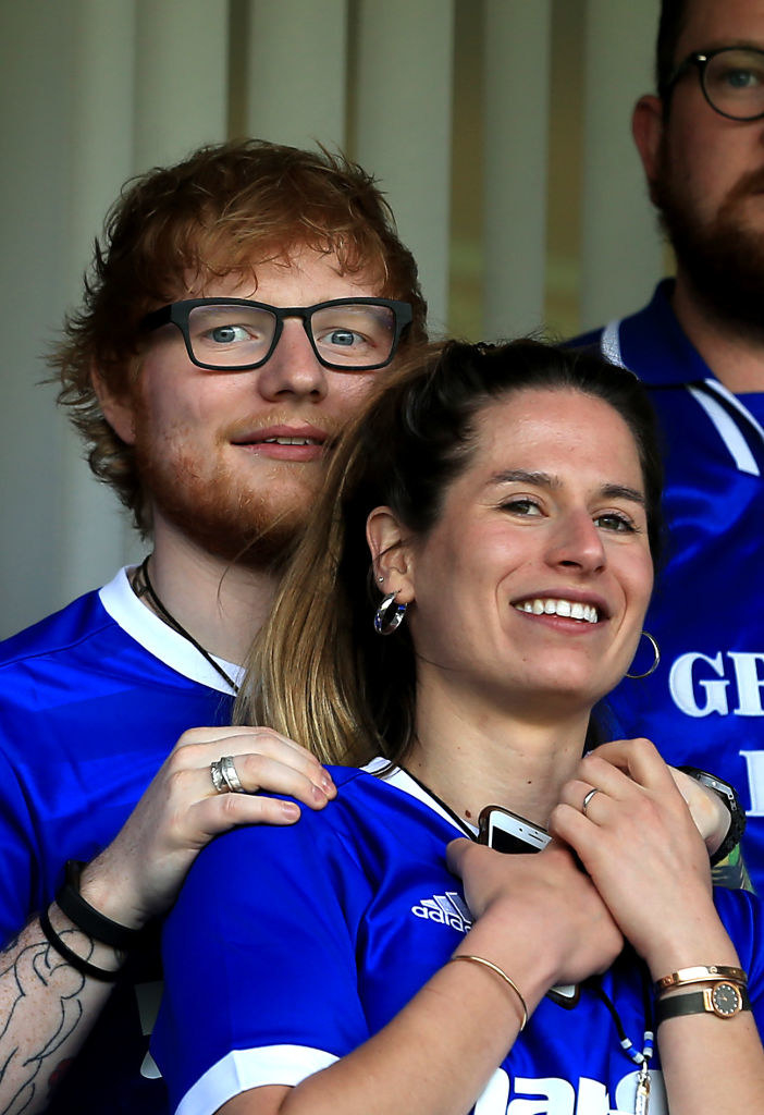 Ed and his wife, Cherry, who helps Ed maintain a healthy lifestyle