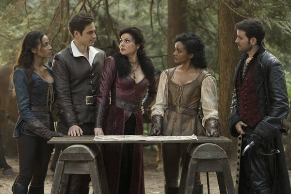 7. The whole last season ofOnce Upon a Time.