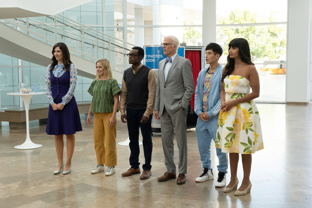 The cast of The Good Place