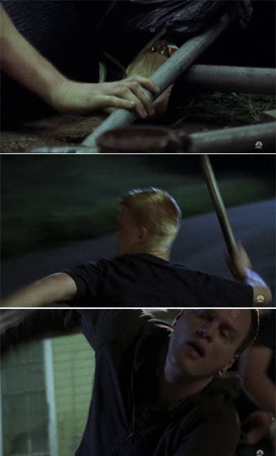 13. Landry killing a guy onFriday Night Lights.