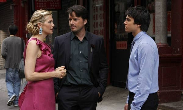 16. Lily and Rufus meeting their son onGossip Girl.