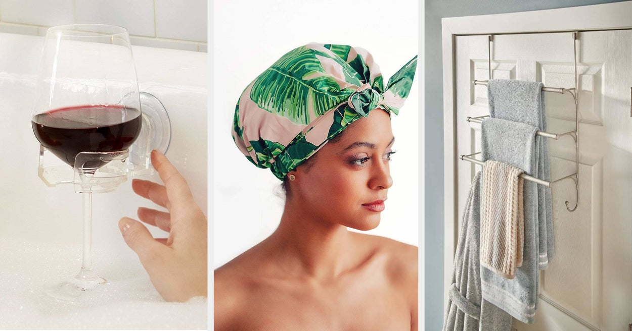 48 Practical Things For Your Bathroom You Probably Won't Regret Buying