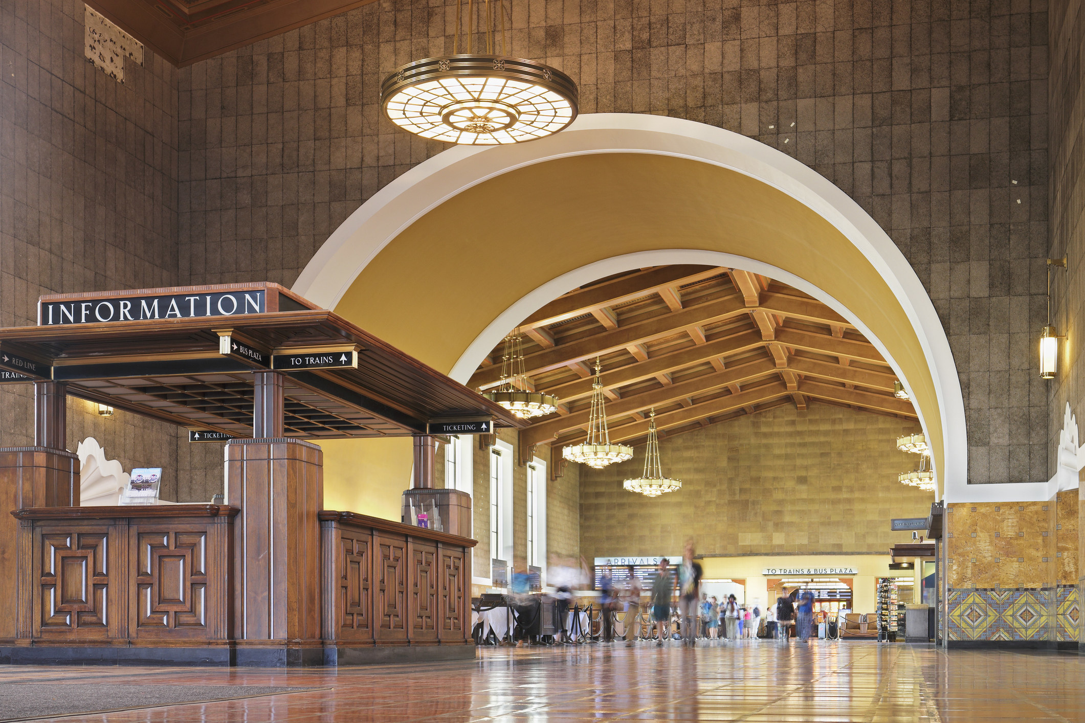 Union Station in LA