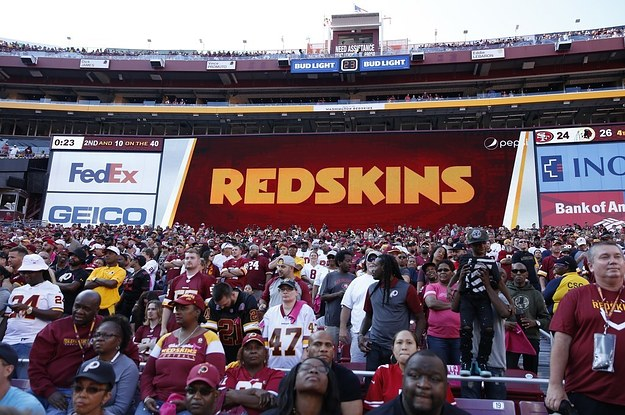 The Washington Redskins Will Review Their Team Name Amid Pressure From Investors