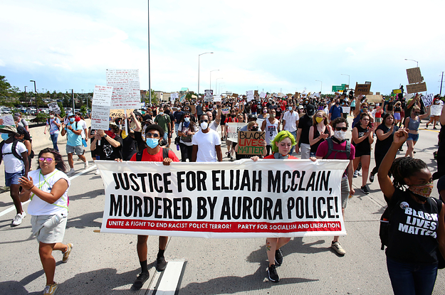 Three Police Officers Have Been Fired For Their Involvement With A Photo Taken Near Where Elijah McClain Was Arrested In A Chokehold