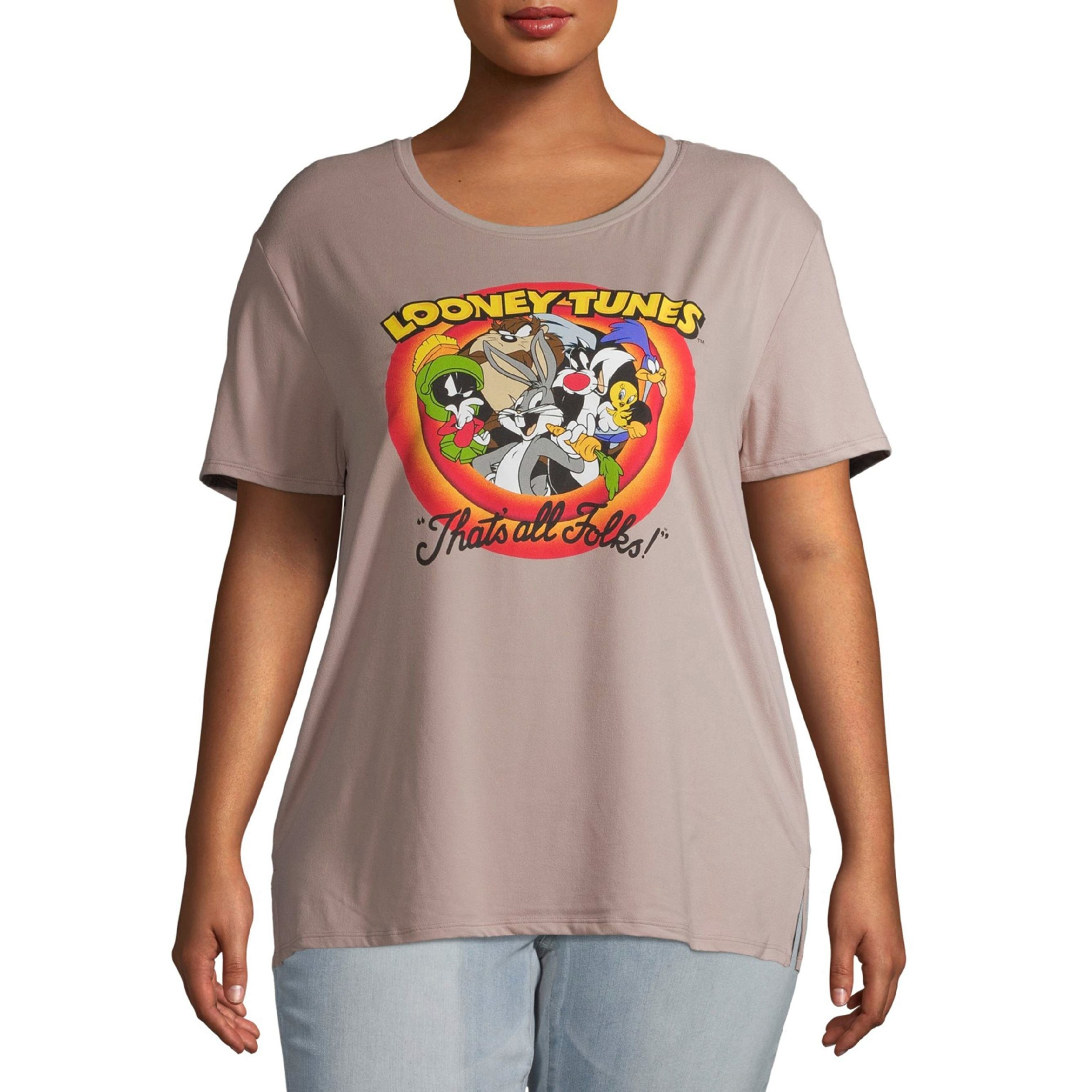 The Looney Toons logo T-shirt