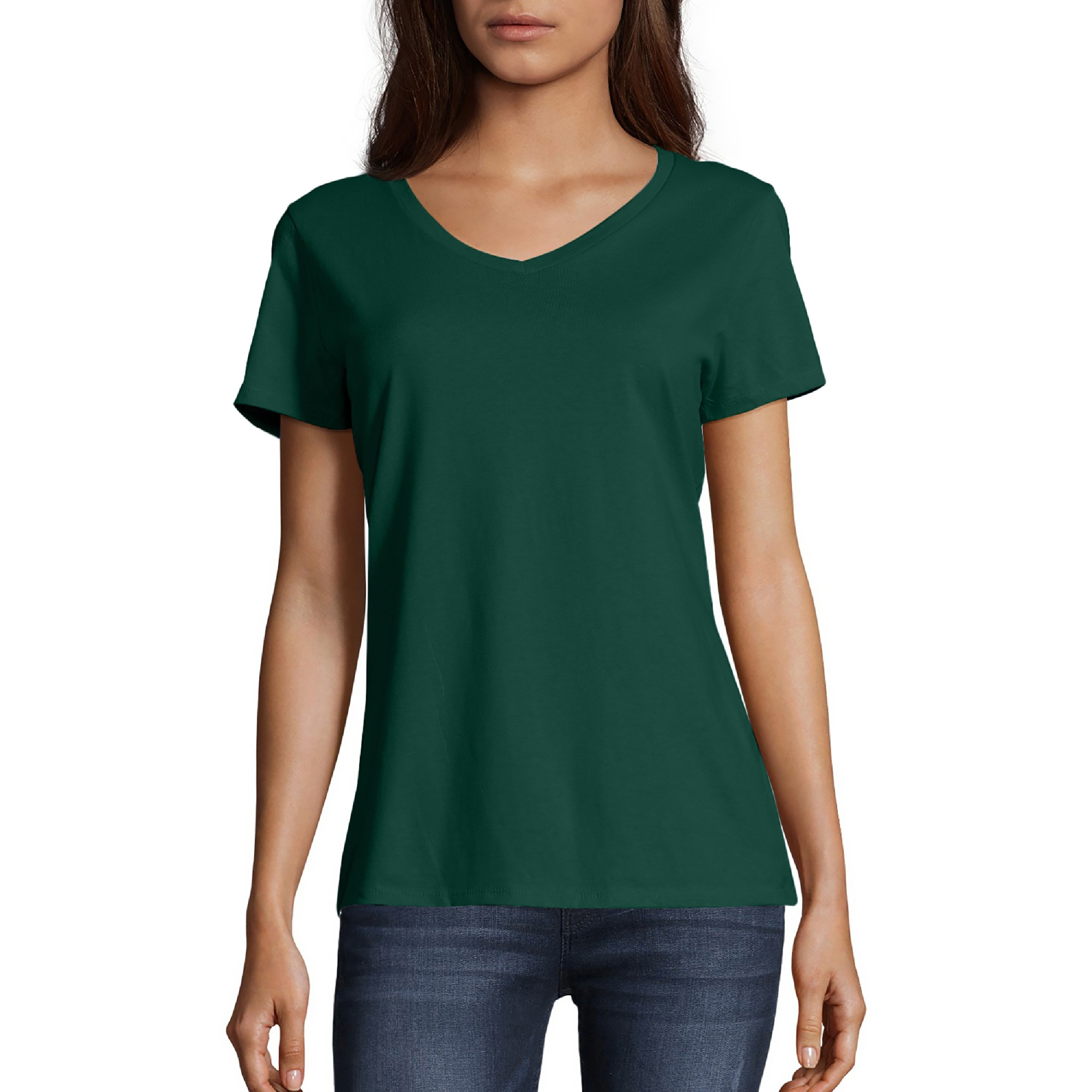 The green T-shirt