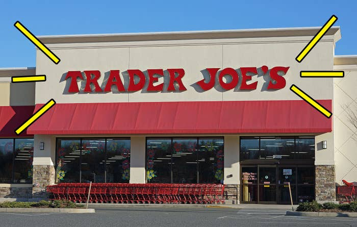 A Trader Joe's grocery store.