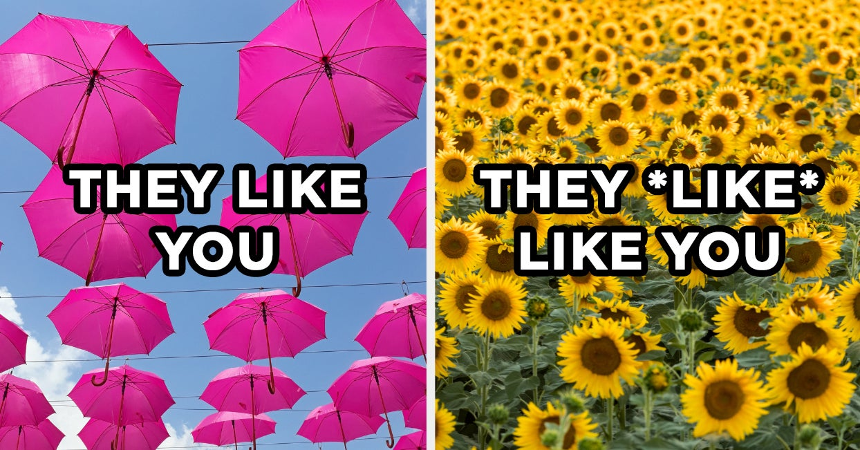 Wanna Know How Your Crush Really Feels About You? Just Choose A Picture In Every Color To Find Out - buzzfeed