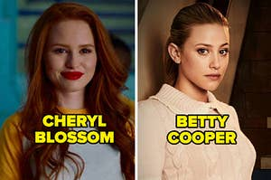 Cheryl Blossom and Betty Cooper from Riverdale