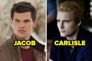 Jacob and Carlisle from Twilight