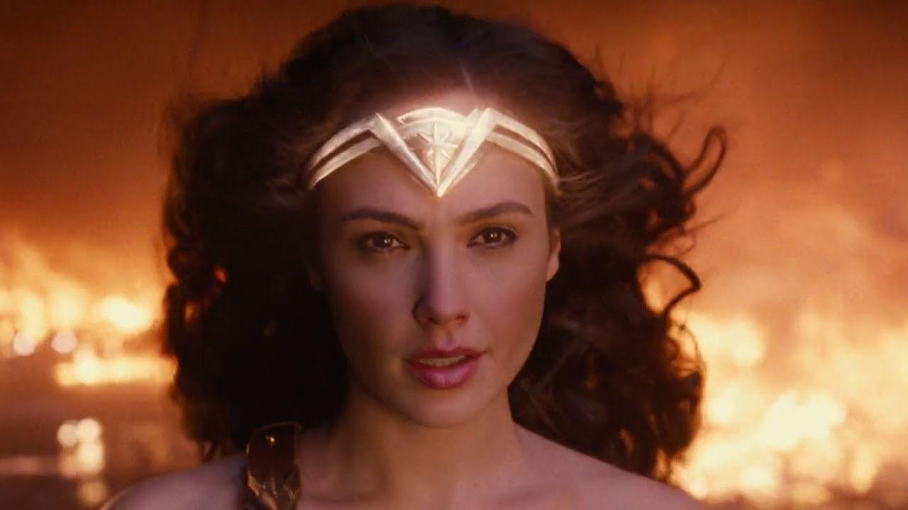 Wonder Woman looking at Ares
