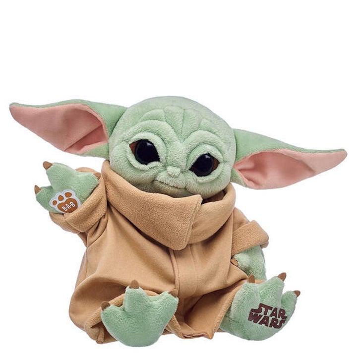the all plush light green baby yoda doll