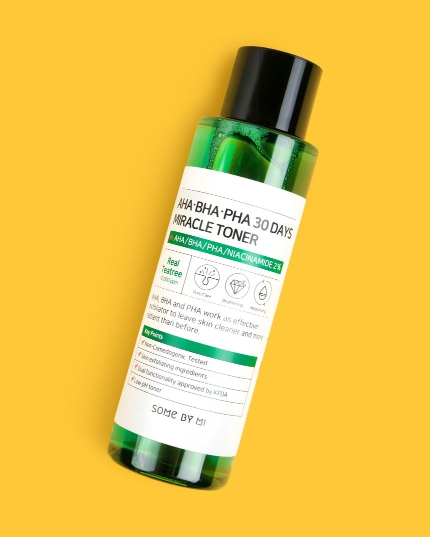 Green bottle packaging of the toner