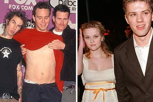 Blink 182/ Reese Witherspoon and Ryan Phillippe when they dated