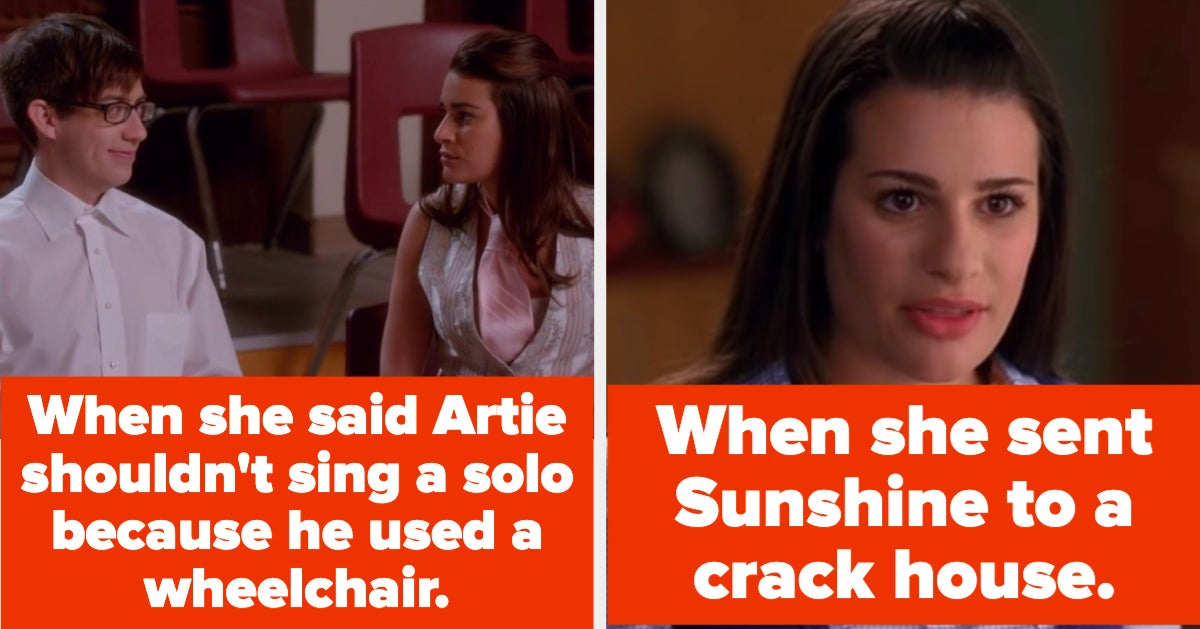 """18 """"Glee"""" Moments That Prove Rachel Berry Just Wasn't A Good Person"""