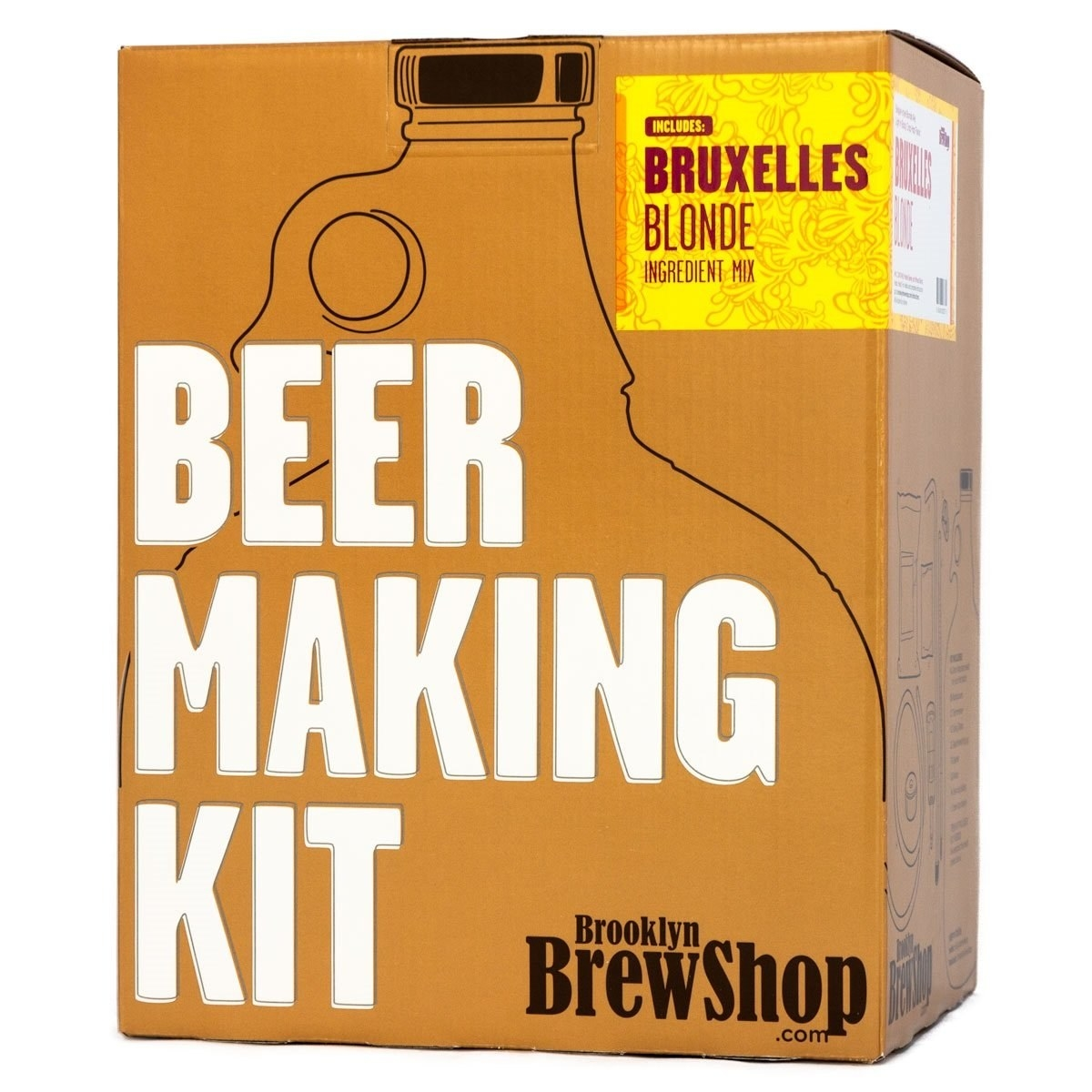 A Brooklyn BrewShop beer making kit
